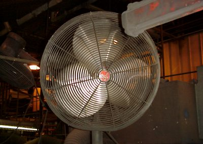 AR fan after