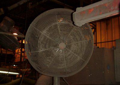 AR fan before